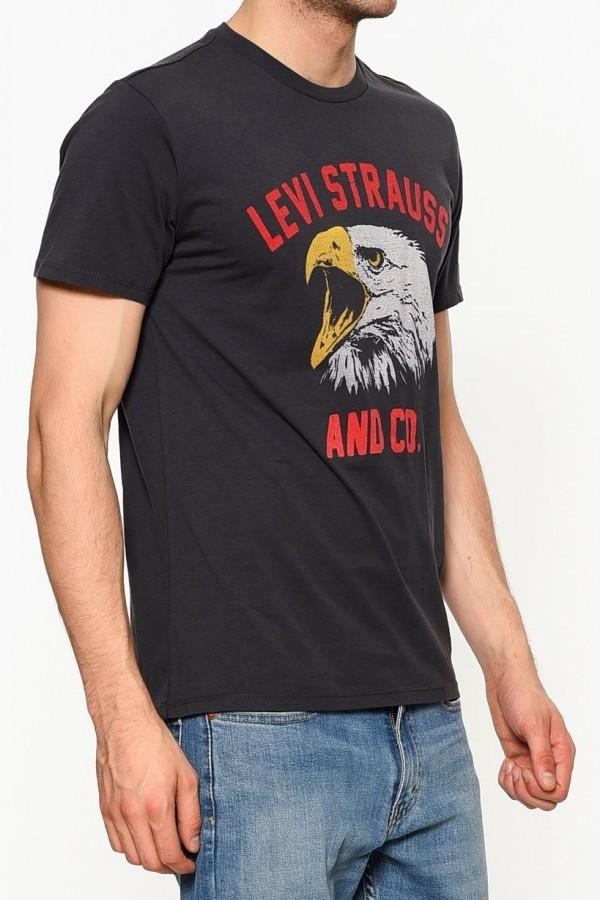 Levis Erkek T-shirt Graphic Set-In Neck 2 -22491-0382